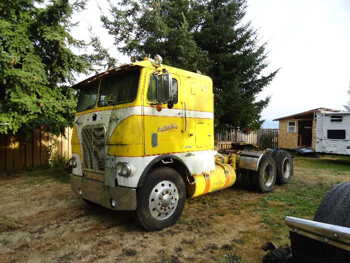 The Excitement Of Geting My 1967 White Freightliner
