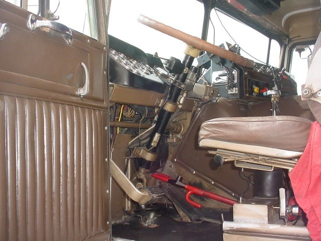 Kenworth Interior Door Panelson 1974 Kenworth W900 Smokey And The Bandit