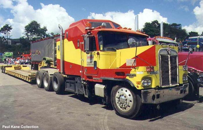 Kenworth K100 + A Conventional