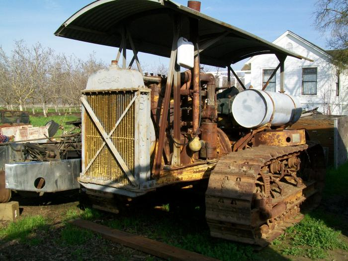 Antique Truck And Tractor Display