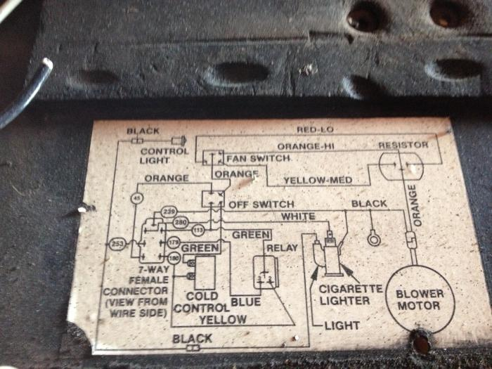 Peterbilt 359 Heater  Ac Schematic